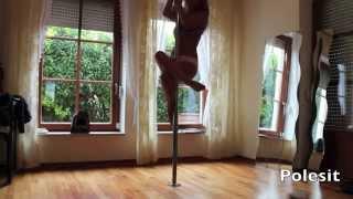 Vid 2: Pole Dance Level 1 Spins & Tricks to Jason Walker - Echo
