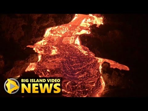 Latest Lava Flows In Hawaii (Oct. 19, 2017)