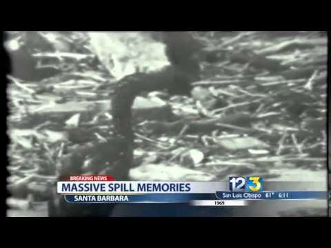 Oil Spill Off Santa Barbara County Coastline