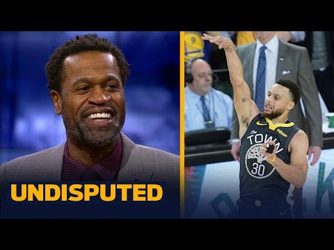 Steph Curry was the reason the Warriors won Game 2 – Stephen Jackson | NBA | UNDISPUTED