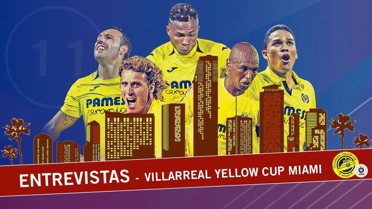 ¡Marcos Senna y José Luis Garzón nos lo cuentan todo desde dentro de la Villarreal Yellow Cup Miami!