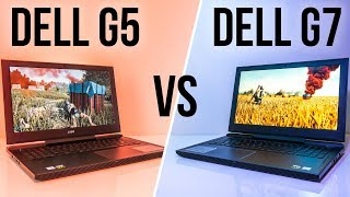 Dell G5 vs G7 - Gaming Laptop Comparison