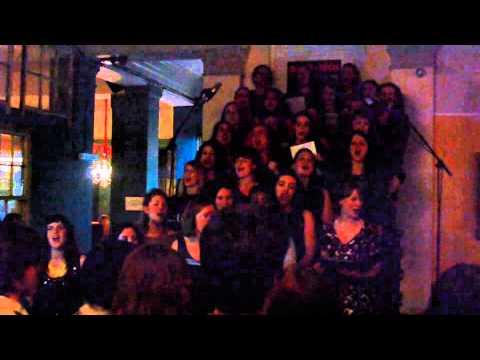 SHE Choir London - Teenage Dirtbag (Clip) 16/12/14