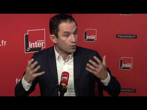 Benoît Hamon répond aux questions de Léa Salamé