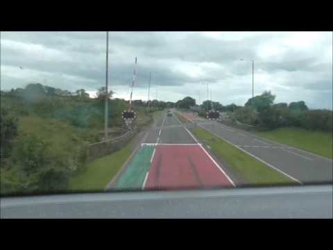 Translink Service 300A From Europa Bus Centre To Belfast International Airport On 11/7/17