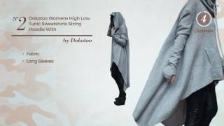 6 Top Selected Long Hoodie Amazon Fashion, Winter 2017
