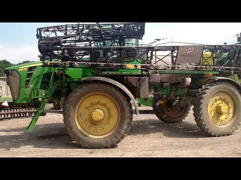Spraying Corn And Applying Fertilizer Doovi