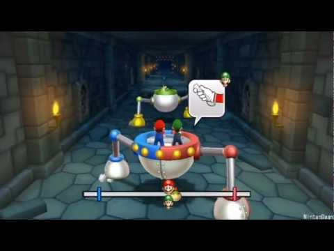 [Mario Party 9] Minigames – Bowser Jr. Walkthrough