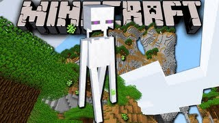 Minecraft 1.7: Amplified Survival Story - White Enderman Legend