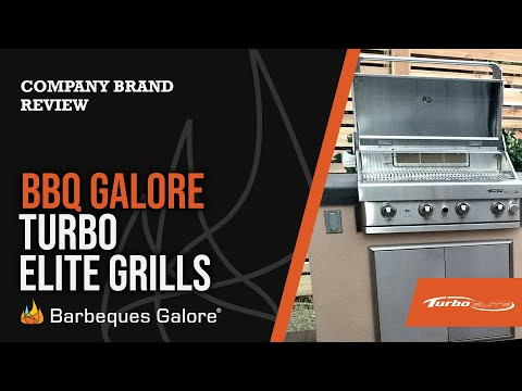 Turbo Elite Barbecue Grill Overview From Barbeques Galore