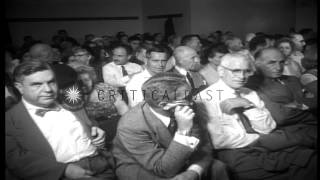 House Committee on Un-American activities holds hearing in Los Angeles, Californi...HD Stock Footage