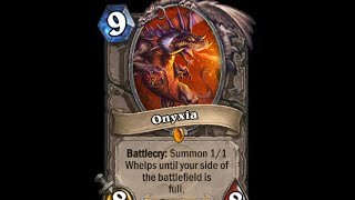 You dare challenge the daughter of Deathwing? - Hearthstone