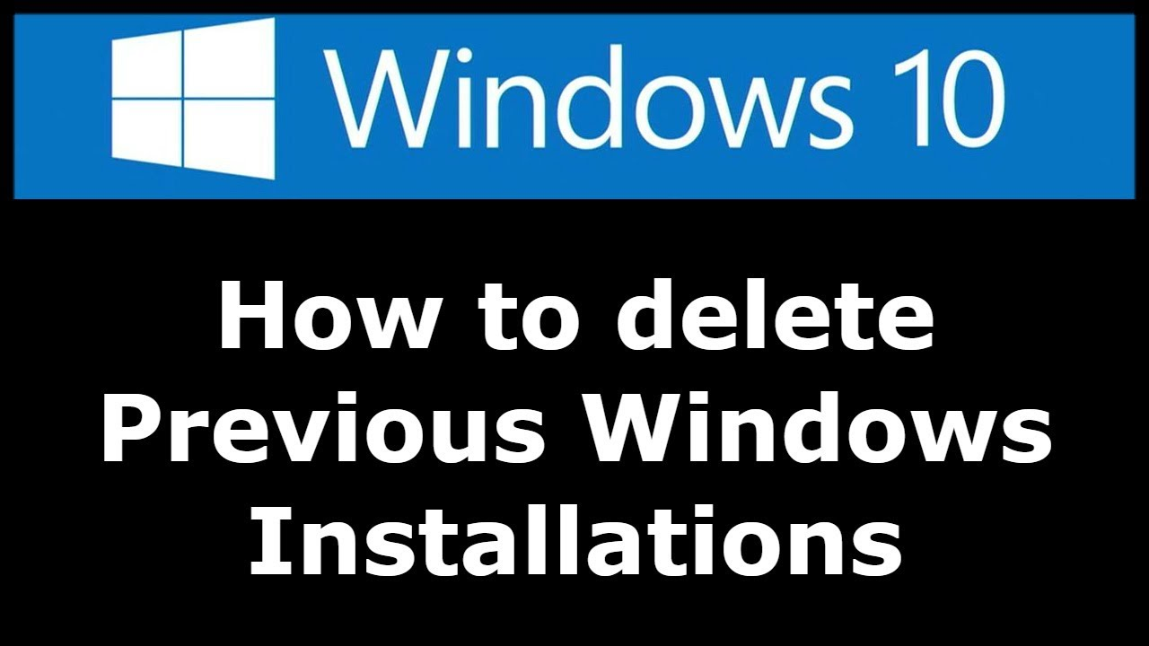 windows 10 update files delete