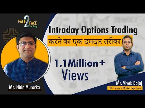 Intraday Options Trading करने का एक दमदार तरीका।