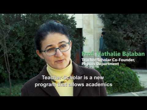 Teacher-Scholar Program at the Hebrew University of Jerusalem -תכנית מורים-חוקרים באוניברסיטה העברית