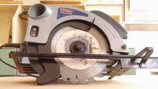 Циркулярная пила, обзор и пример пиления, circular saw