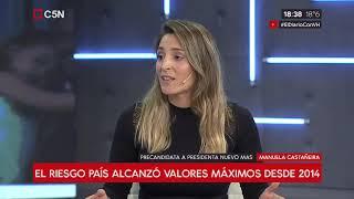 Cumbre de urgencia en la Casa Rosada: Habla Manuela Castañeira