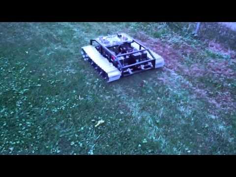 Large Scale R/C Tank