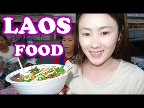 LAO FOOD, LAOS TRAVEL, STREET FOOD IN LAOS, FOOD IN VIENTIANE, LAOS FOOD