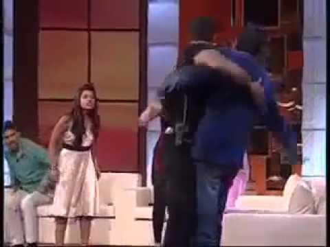 indian actors rakhi sawant Sabon _ Other Fight on live show - YouTube.FLV