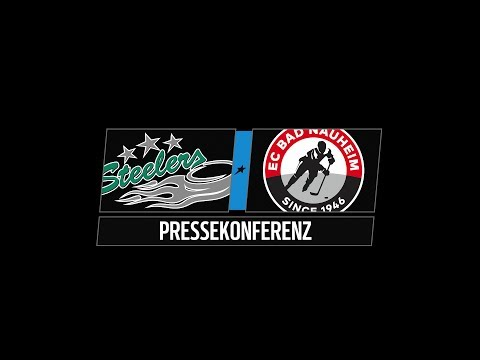 Pressekonferenz 42. Spieltag | Bietigheim Steelers vs. EC Bad Nauheim