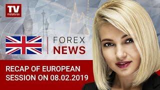 InstaForex tv news: 08.02.2019: GBP maintains momentum and resists USD (EURUSD, GBPUSD, USDCHF)