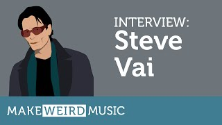 Interview: Steve Vai - Make Weird Music