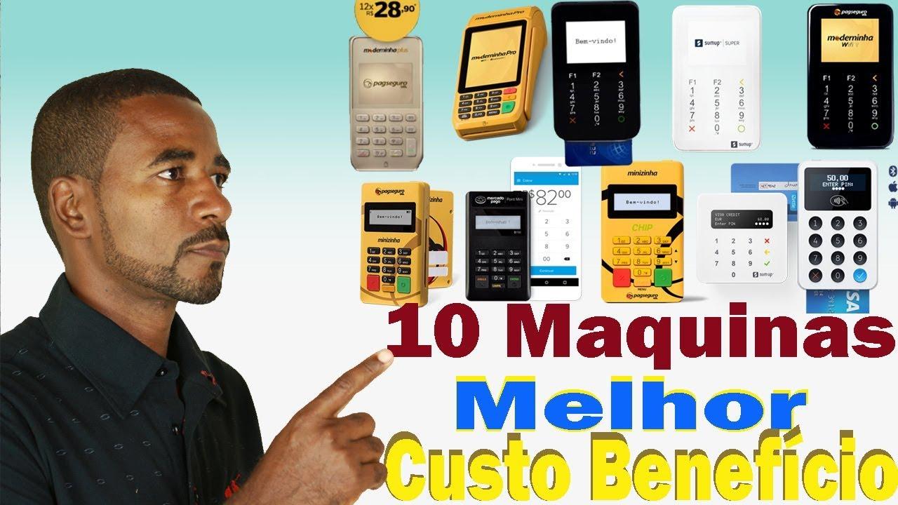 7781c460e As 10 Melhores Maquininha De Cartão Custo Benefício - YouTube