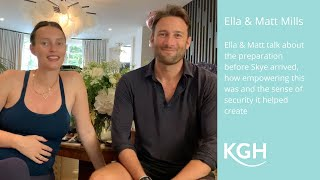 Ella and Matt from Deliciously Ella talk about their experience with KG Hypnobirthing
