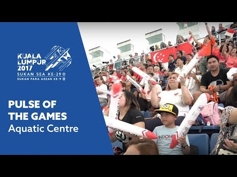 Pulse of the Games - National Aquatic Centre, KL Sports City, Bukit Jalil