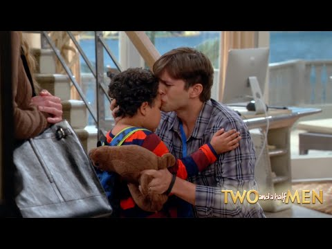 TwoAndAHalfMen  Goodbye Louis.
