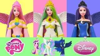 Play Doh  MLP Princess Celestia, Princess Cadence, Princess Luna Inspired Costumes (Rapunzel Doll)(Play Doh MLP Princess Celestia, Princess Cadence, Princess Luna Inspired Costumes (Rapunzel Doll) https://www.youtube.com/watch?v=vwTdDvV1qL8 ..., 2016-02-19T16:23:52.000Z)