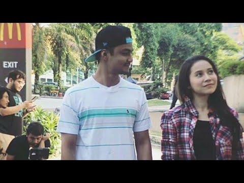 Aksi Comel Syafiq Kyle&Farah Nabilah Di Set Drama Terbaru Mereka 'Mocha Kau Bahagia!