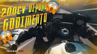 200 CV DI PURO GODIMENTO!!! - TEST RIDE YAMAHA R1 + R1 PURE SOUND