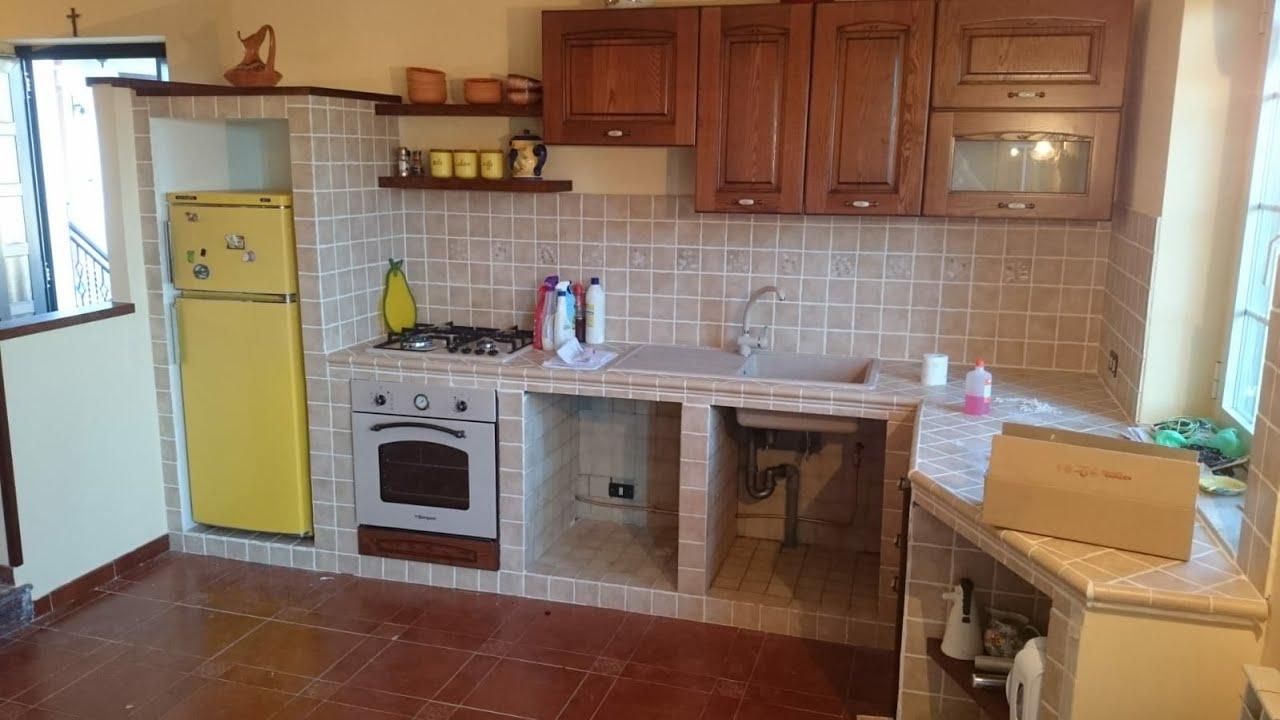 Cucine A Muro Foto cucina in muratura fai da te