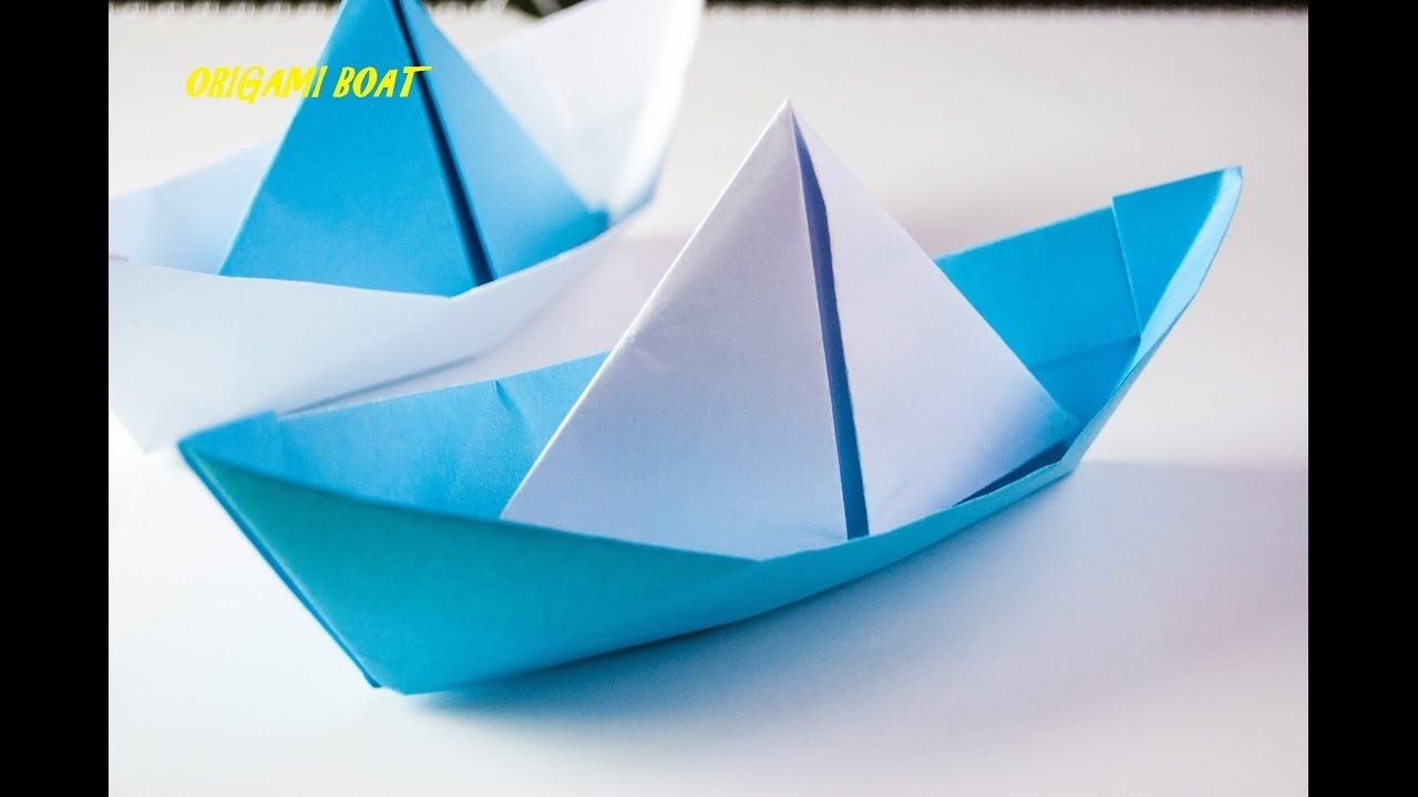 how to make origami boat japanese origami tutorial video