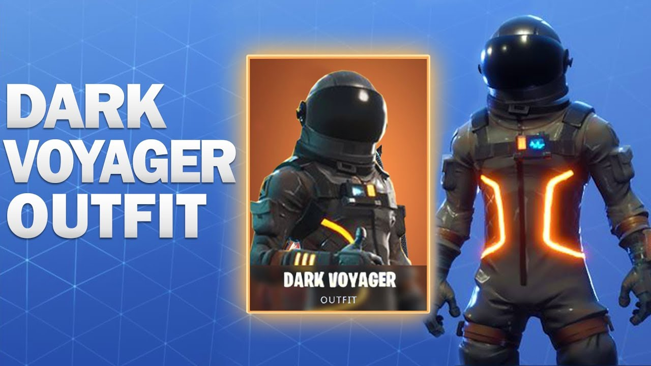 Dark Voyager Fortnite Skin Showcase