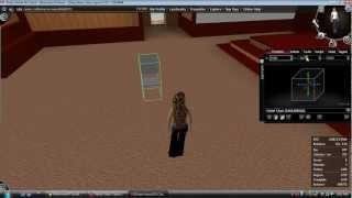Utherverse Prop Editing Basics (Chairs)