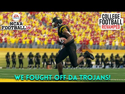 College Football Revamped | Coach Gary Gaines | Season 7 vs USC | ASU 3-1 | Ep. 4