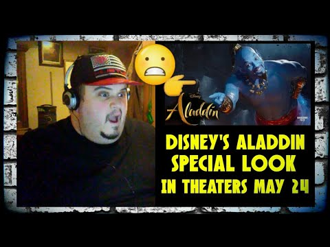 Disney's Aladdin - Special Look: In Theaters May 24 [REACTION!!!]