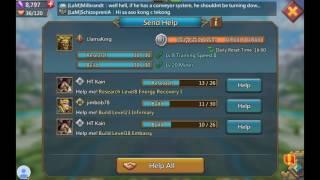 Lords Mobile! Walkthrough level 1-8 Hero assault challenge mode.