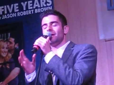 Shiksa Goddess - Adam Kantor at The Last Five Years 2013 CD release