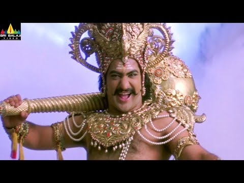 Jr NTR vs Mohan Babu Dialogue War | Yamadonga Movie Scenes | SS Rajamouli | Sri Balaji Video