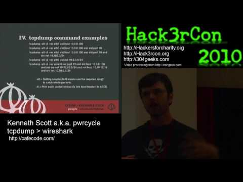 tcpdump wireshark Screen DDoS Analysis Tools Review