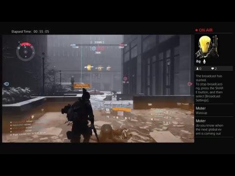 "PJHennessy203's Tom Clancy's The Division Channel ""LIVE STREAM 54 """