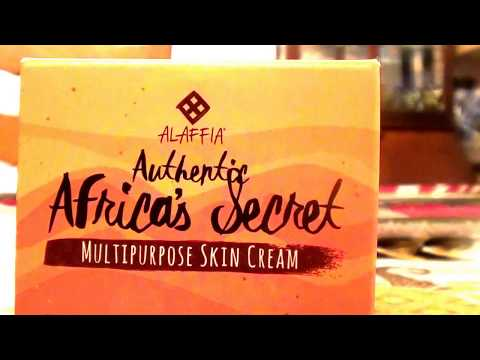 Alaffia Authentic Africa's Secret Multipurpose Skin 4 Ounces Cream