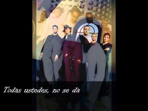 Backstreet Boys  Larger Than Life (traducida Al Español)