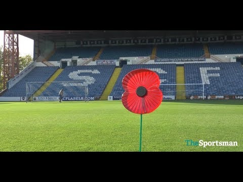 The Sportsman's Poppy Appeal Kick Up Challenge | Stockport County | Royal British Legion