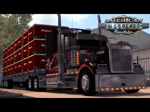 American Truck Simulator: Custom W900 - Snap-on Tools - Vancouver to Seattle