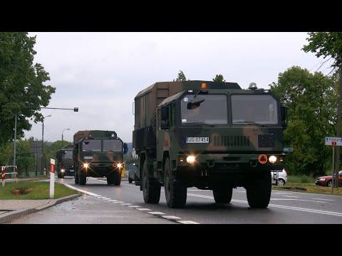 Ale widok!! Wojsko Polskie zdominowało krajową S7 aż ciarki przechodzą